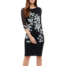 Buy Phase Eight Daisy Floral Lace Dress, Navy Online at johnlewis.com