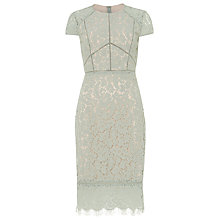 Buy Phase Eight Eloise Lace Dress, Mint Green Online at johnlewis.com