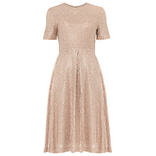 Buy Phase Eight Paloma Dress, Rose Gold Online at johnlewis.com