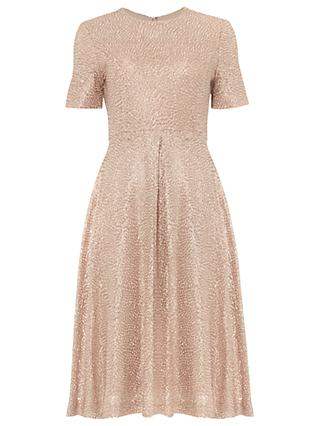 Phase Eight Paloma Dress, Rose Gold