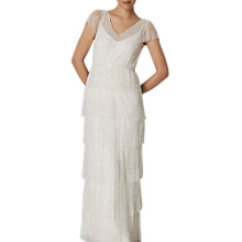 Buy Phase Eight Bridal Nyelle Layered Wedding Dress, Cream/Ivory Online at johnlewis.com