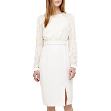 Buy Phase Eight Victoria Dress, Antique Cream Online at johnlewis.com