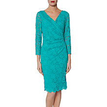 Buy Gina Bacconi June Floral Lace Dress Online at johnlewis.com