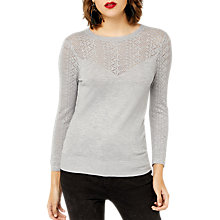Buy Warehouse Pretty Stitch Yoke Jumper Online at johnlewis.com