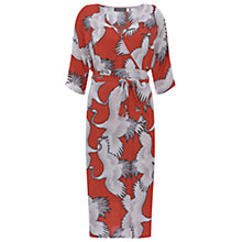 Buy Mint Velvet Julia Print Wrap Kimono Dress Multi Online at johnlewis.com