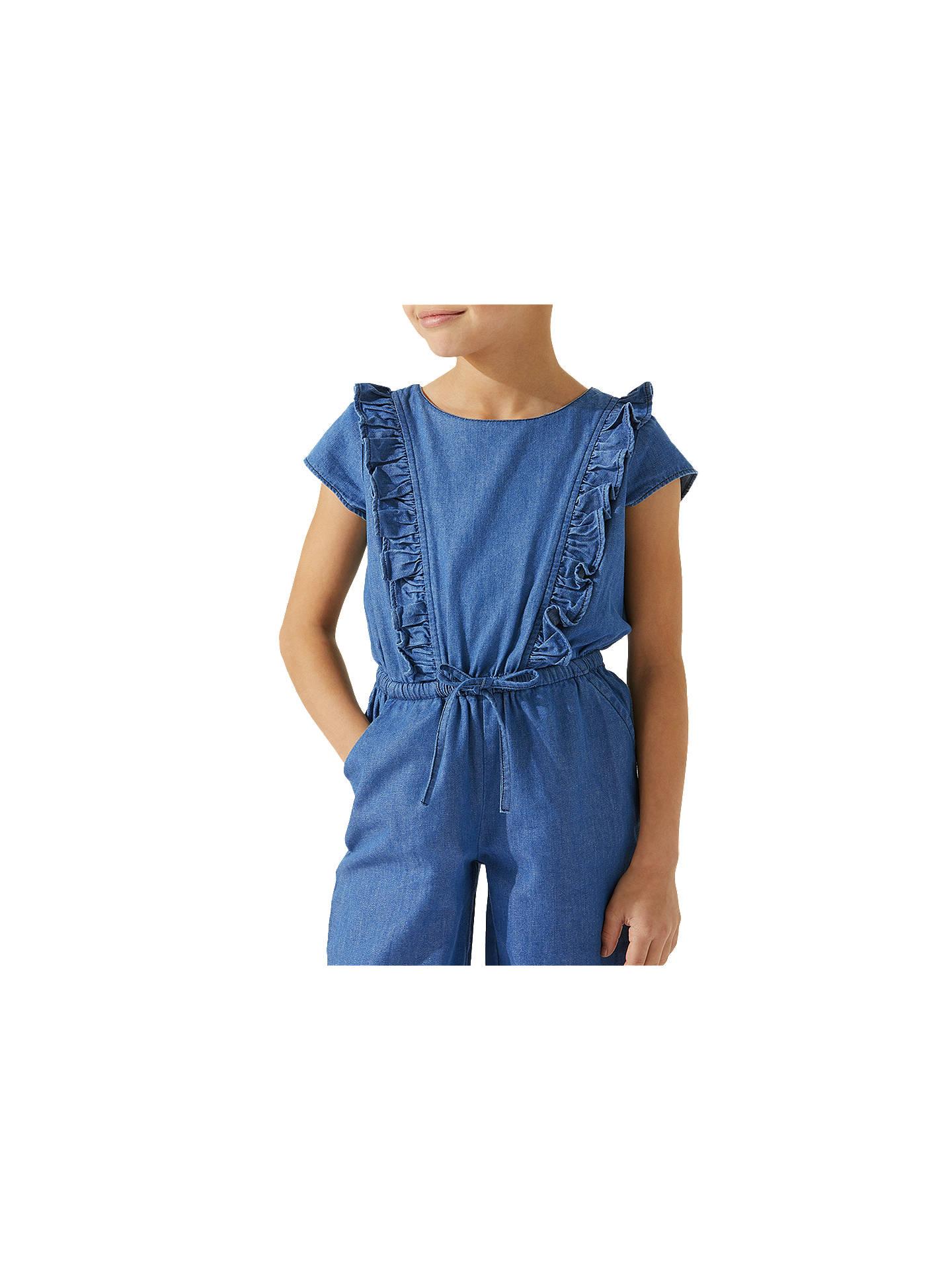 b2a310df0a ... Buy Jigsaw Girls  Chambray Jumpsuit