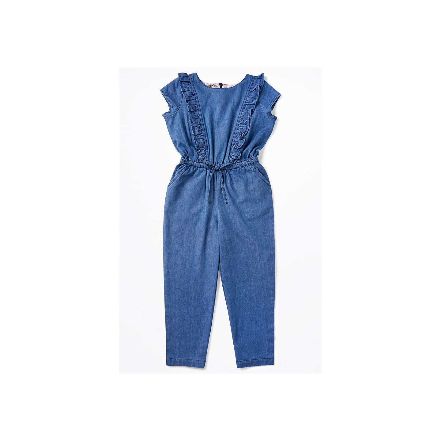 Jigsaw Girls' Chambray Jumpsuit, Navy by Jigsaw
