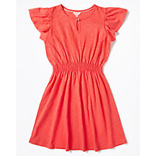 Buy Jigsaw Girls' Jersey Floaty Dress, Red Online at johnlewis.com