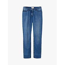 Buy Pure Collection Cropped Jeans, Mid Blue Online at johnlewis.com