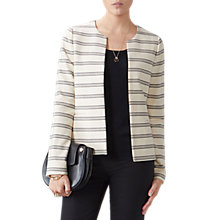 Buy Pure Collection Striped Tailored Jacket, Multi Online at johnlewis.com