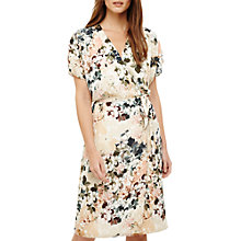 Buy Phase Eight Jen Floral Wrap Dress, Multi Online at johnlewis.com