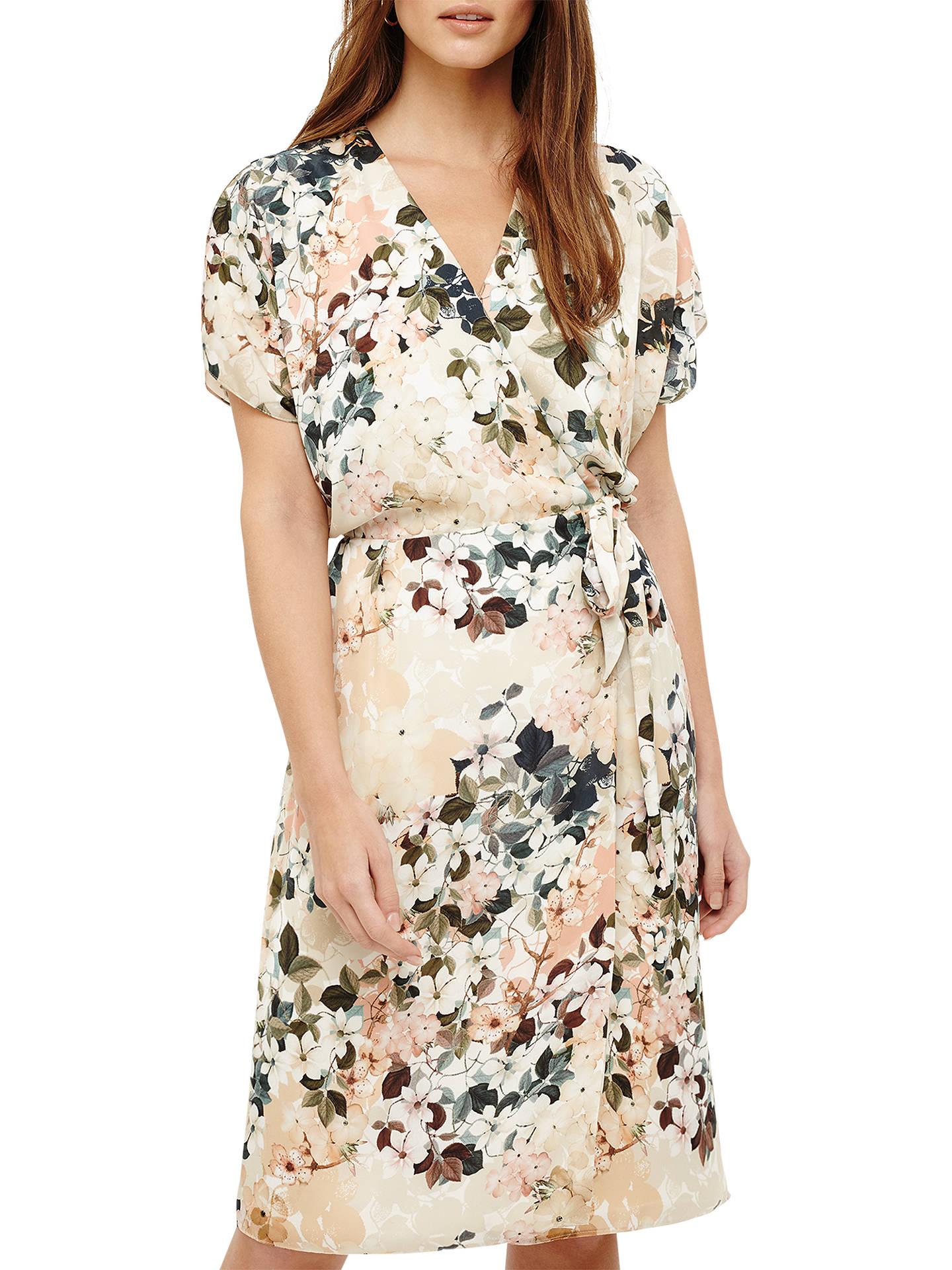 eea142fa6da Buy Phase Eight Jen Floral Wrap Dress