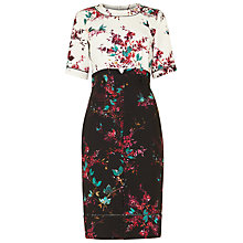 Buy Phase Eight Ariana Floral Print Dress, Multi Online at johnlewis.com