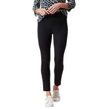 Buy Hobbs Amanda Capri Trousers, Navy Online at johnlewis.com