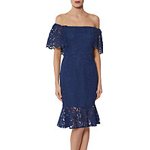 Buy Gina Bacconi Maria Shoulderless Lace Dress Online at johnlewis.com