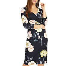 Buy Phase Eight Marina Floral Print Dress, Navy/Multi Online at johnlewis.com
