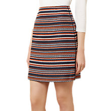 Buy Hobbs Tammi Skirt, Navy/Multi Online at johnlewis.com
