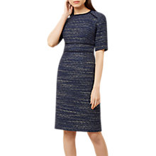 Buy Hobbs Florrie Dress, Navy/Multi Online at johnlewis.com