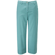 Buy Pure Collection Cotton Wide Crop Chino Trousers Online at johnlewis.com