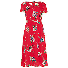 Buy Phase Eight Alexandra Print Dress, Hot Pink Online at johnlewis.com