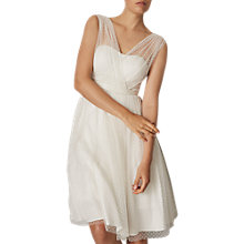 Buy Phase Eight Bridal Mae Wedding Dress, Pearl Online at johnlewis.com