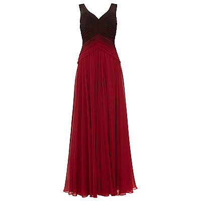 Phase Eight Collection 8 Elfie Ombre Dress, Scarlet