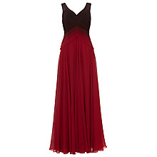 Buy Phase Eight Collection 8 Elfie Ombre Dress, Scarlet Online at johnlewis.com