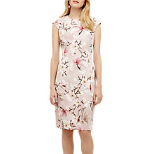 Buy Phase Eight Odette Floral Dress, Rose Pink Online at johnlewis.com