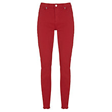 Buy Mint Velvet Paxton Skinny Jeans, Red Online at johnlewis.com