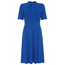 Buy Phase Eight Tamsin Twist Neck Dress, Lapis Online at johnlewis.com