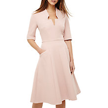 Buy Phase Eight Willa Fit and Flare Dress, Dusty Pink Online at johnlewis.com