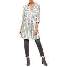 Buy Mint Velvet Striped Shirt Dress, Multi Online at johnlewis.com