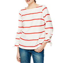 Buy Mint Velvet Striped Top, Watermelon Online at johnlewis.com