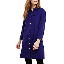 Buy Phase Eight Montana Tencel Shirt Dress, Sapphire Blue Online at johnlewis.com