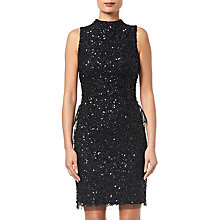 Buy Adrianna Papell Bead Mock Neck Dress Online at johnlewis.com