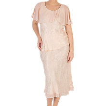 Buy Chesca Chiffon Trim Satin Skirt Online at johnlewis.com