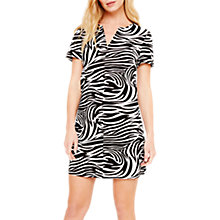 Buy Damsel in a Dress Zebra Print Tunic Dress, Black/White Online at johnlewis.com
