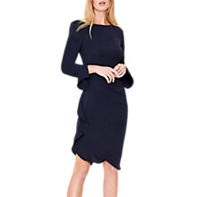 Buy Damsel in a Dress Carrera Frill Tunic Dress, Navy Online at johnlewis.com