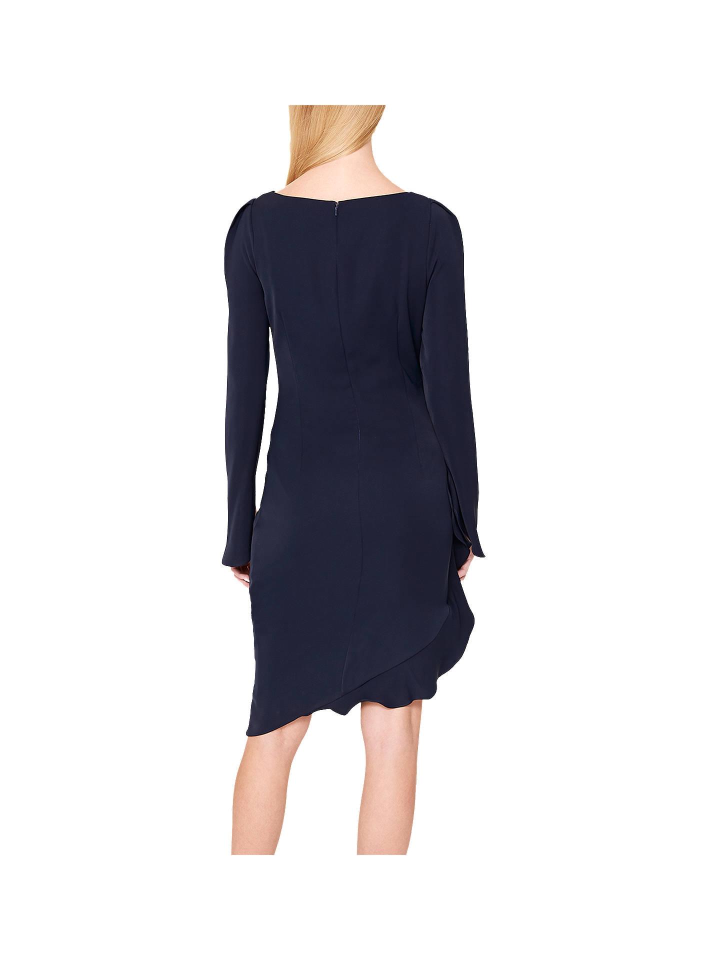 895b4cd3c39 ... Buy Damsel in a Dress Carrera Frill Tunic Dress, Navy, 14 Online at  johnlewis ...