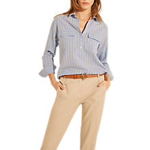 Buy Gerard Darel Carlin Blouse, Blue Online at johnlewis.com