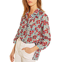 Buy Gerard Darel Cassandra Blouse, Blue Online at johnlewis.com