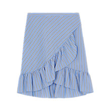 Buy Gerard Darel Anouck Skirt, Blue Online at johnlewis.com