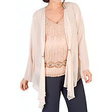Buy Chesca Beaded Tab Shrug Online at johnlewis.com