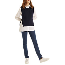 Buy Gerard Darel Faustine Pullover Jumper, Blue Online at johnlewis.com