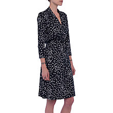 Buy French Connection Komo Dress, Black/White Online at johnlewis.com