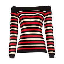 Buy Damsel in a Dress Saskia Stripe Jumper, Multi Online at johnlewis.com