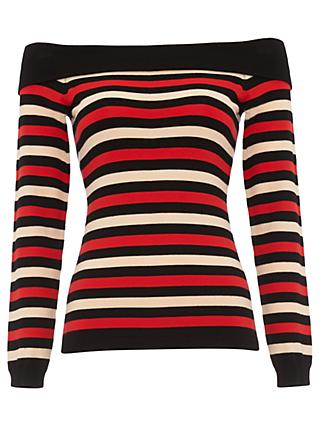 Damsel in a Dress Saskia Stripe Jumper, Multi