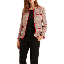 Buy Gerard Darel Rome Jacket, Pink Online at johnlewis.com