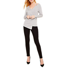 Buy Damsel in a Dress Felix Metal Ring Jumper, Grey Online at johnlewis.com