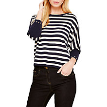 Buy Damsel in a Dress Neeva Shimmer Jumper, Navy/Multi Online at johnlewis.com